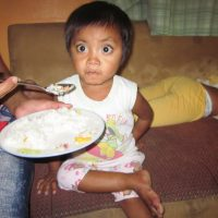 Child with stunted growth