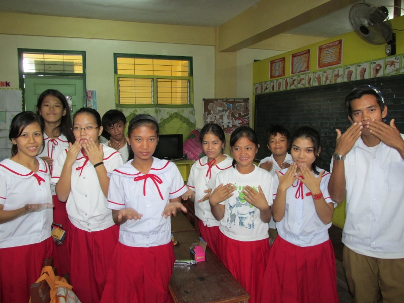 deaf students