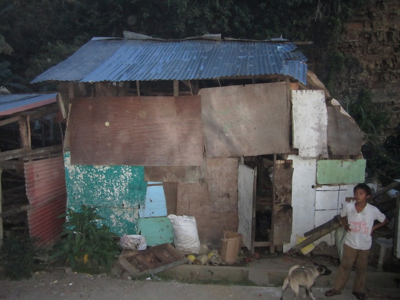 Poor family house Philippines